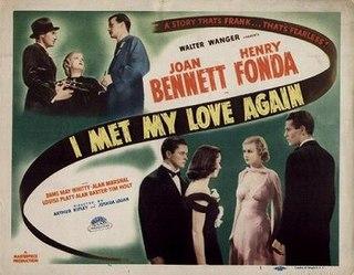 <i>I Met My Love Again</i> 1938 American film