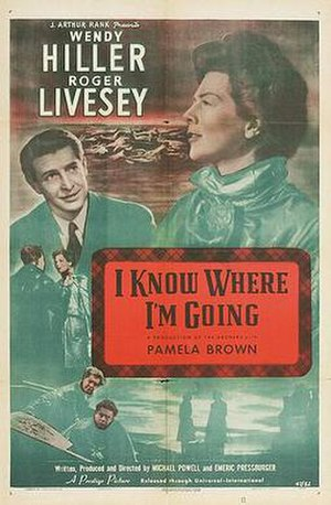 I Know Where I'm Going! - theatrical poster
