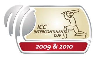 2009–10 ICC Intercontinental Cup - Image: Icc continen