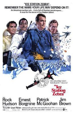 Ice Station Zebra - Theatrical release poster by Howard Terpning