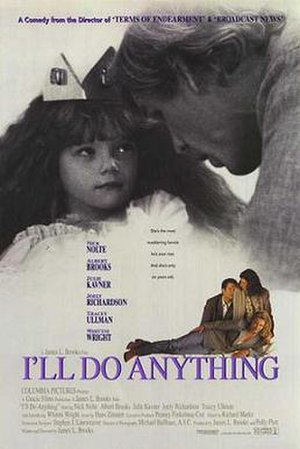 I'll Do Anything - Theatrical release poster