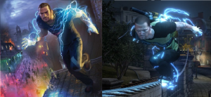 Infamous 2 - Image: In Famous 2 Cole compare