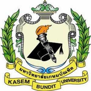 Kasem Bundit University - Image: KU Blogo