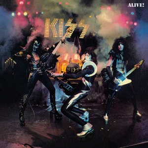 Alive! (Kiss album) - Image: Kiss alive album cover