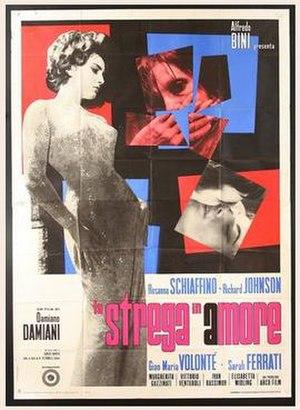 La strega in amore - Italian film poster