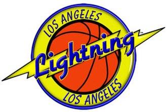 Los Angeles Lightning - Image: Lalightning logo hi res small