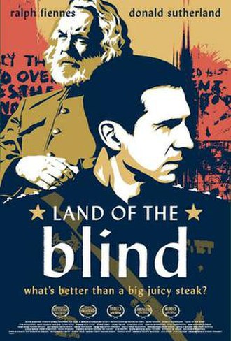 Land of the Blind - Theatrical film poster