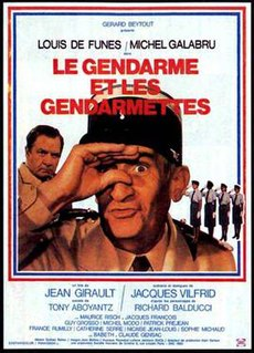 1982 French film directed by Jean Girault and Tony Aboyantz