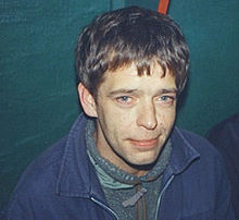 Lee A. Mavers at The Picket in Liverpool. December 21st. 1999. Photo credit A. Waters.jpg