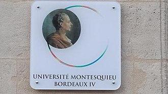 Montesquieu University - University logo