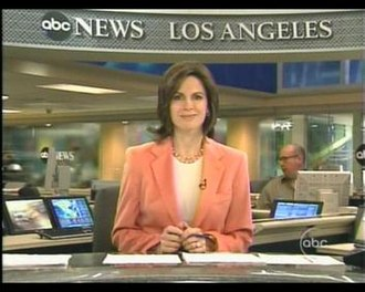 The Prospect Studios - Elizabeth Vargas anchors ABC World News Tonight from ABC News' Los Angeles Bureau, located at The Prospect Studios until 2011.