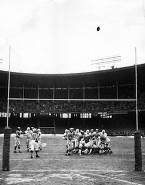 Lou Groza - The game-winning field goal in the 1950 NFL championship was the highlight of Groza's long career.