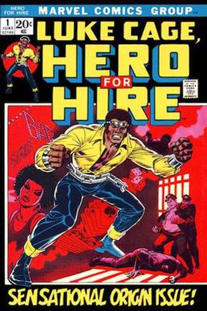 Luke Cage - Image: Luke Cage, Hero For Hire v 1 1