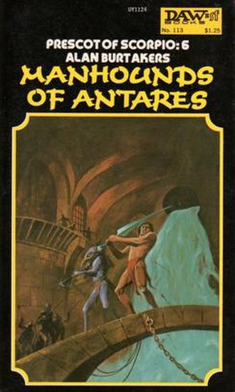 Manhounds of Antares - Cover of first edition