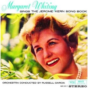 Margaret Whiting Sings the Jerome Kern Songbook - Image: Margkern