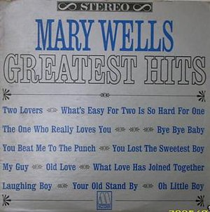 Greatest Hits (Mary Wells album) - Image: Mary Wells' Greatest Hits