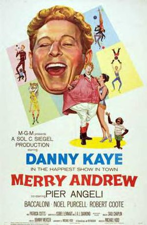 Merry Andrew (film) - Original poster