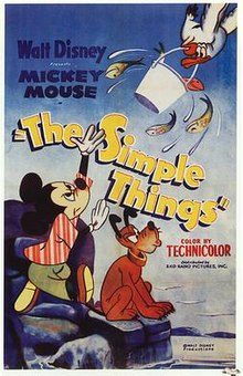 Mickey Mouse - The Simple Things (1952) film poster.jpg