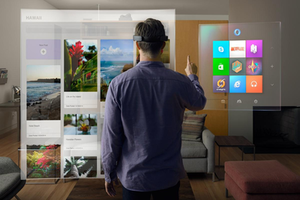 33a623ae057b Simulated image of Windows Mixed Reality on Microsoft HoloLens