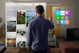Windows Mixed Reality - Image: Microsoft Windows Holographic