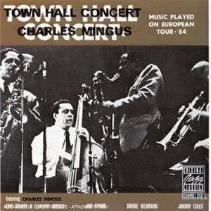 Town Hall Concert - Image: Mingustownhallconcer t