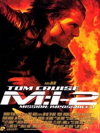 Mission: Impossible 2 - Theatrical release poster