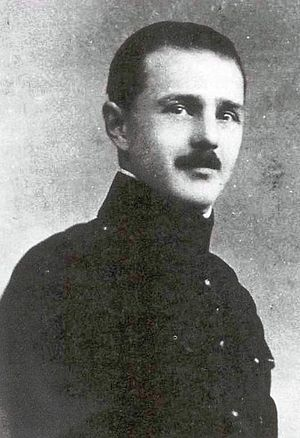 Georgian emigration in Poland - Major Giorgi Mamaladze, later murdered in the 1940 Katyn massacre