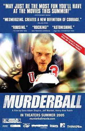 Murderball (film) - Theatrical release poster
