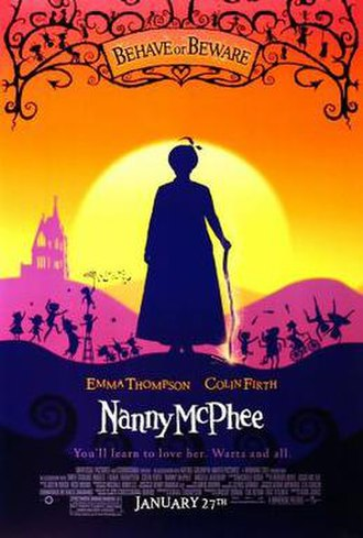 Nanny McPhee - Theatrical release poster