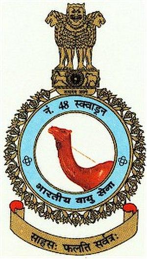 No. 48 Squadron IAF - Image: No. 48 Squadron IAF Logo