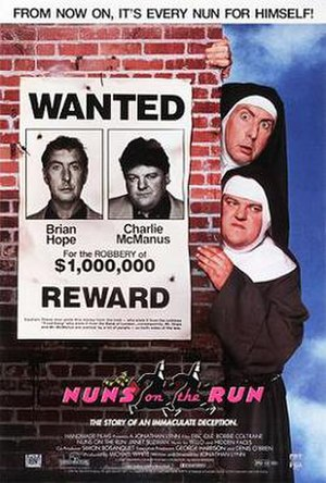 Nuns on the Run - Theatrical release poster