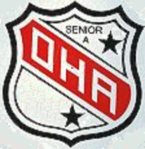 OHA Senior A League (1890–1979) - Image: OHA Sr A Logo