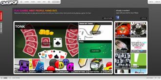 OMGPop - Image: Omgpop January 2013 Homepage