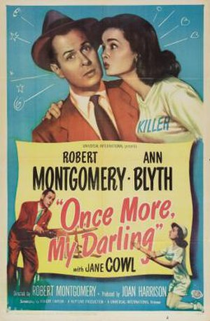 Once More, My Darling - Image: Once More, My Darling Film Poster