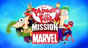 Phineas and Ferb: Mission Marvel - Image: Phineas and Ferb Mission Marvel logo