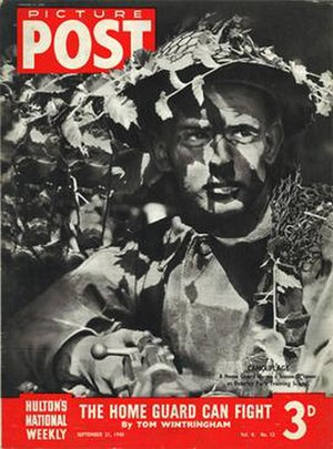 Picture Post - Cover of the Picture Post vol. 8 no. 12 dated 21 September 1940