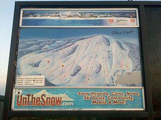 Pine Knob - Ski Trails at Pine Knob
