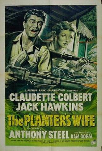 The Planter's Wife (1952 film) - Original British film poster