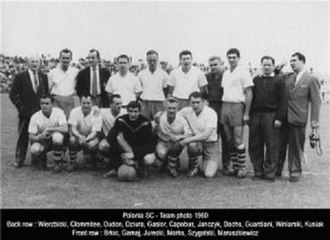 Western Eagles FC - Photograph of the 1960 State League Championship team