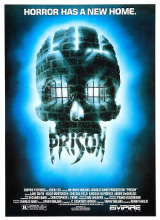 Prison (1987 film) - Theatrical release Poster