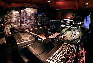 Recording and mixing studio