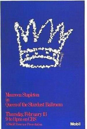 Queen of the Stardust Ballroom - Original broadcast poster