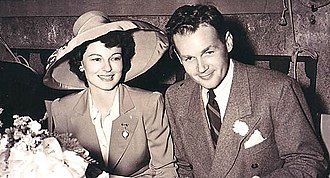Ruth Hussey - Ruth Hussey and her husband Bob Longenecker