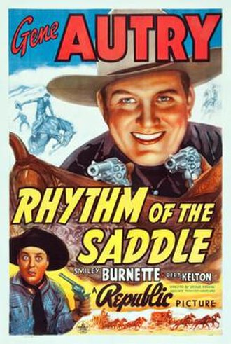 Rhythm of the Saddle - Image: Rhythm of the Saddle Poster