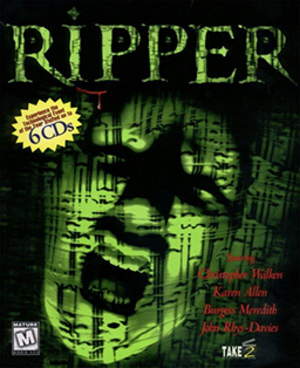 Ripper (video game) - Image: Ripper Coverart