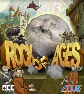 <i>Rock of Ages</i> (video game) video game