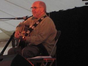 Roy Bailey (folk singer) - Roy Bailey at Bromyard Folk Festival, 2007