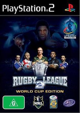 Rugby League 2: World Cup Edition - Image: Rugby League 2 WCE Cover