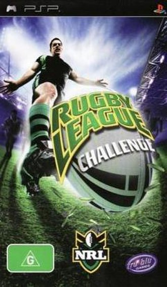 Rugby League Challenge - Image: Rugby League Challenge Cover
