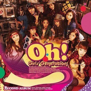 Oh! (Girls' Generation album) - Image: SNSD Oh!